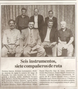 08 Revista la maga Astor Piazzolla octeto  electronico Adalberto Cevasco